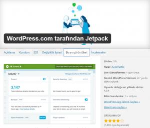 Jetpack En İyi WordPress Eklentileri