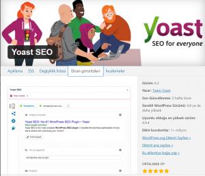 Yoast SEO En İyi WordPress Eklentileri